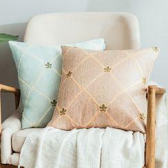 iMpressee - Plaid Fabric Cushion Cover