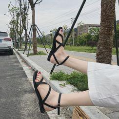 Senkano - 平底鞋羅馬涼鞋