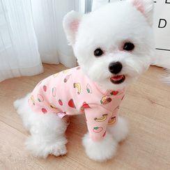 Mily Pets - Fruit Print Pet Dress