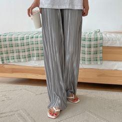 Envy Look(エンビールック) - Band-Waist Pleated Pants