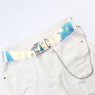 Rofuka - Iridescent Transparent Belt
