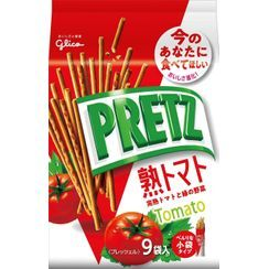 Glico - Pretz Biscuit Sticks Tomato Flavor (Pack of 9)