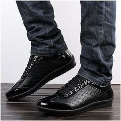 WeWolf - Genuine-Leather Lace-Up Sneakers