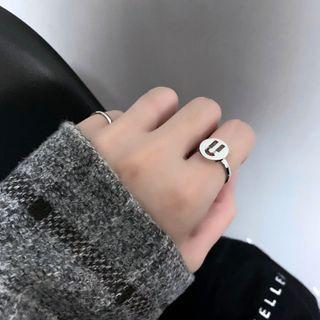 PANGU - Alphabet Stainless Steel Ring