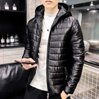 Pompadour - Hooded Padded Zip Jacket
