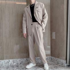 Andrei - 西服套裝: 單排扣西裝外套 + 西褲