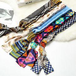 Parabeam - Print Narrow Scarf Hair Tie