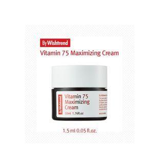 By Wishtrend(バイウィッシュトレンド) - Free Gift - By Wishtrend Vitamin 75 Maximizing Cream Sample 1.5ml