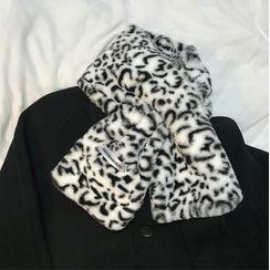 Glotto(グロット) - Leopard Scarf