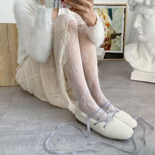 MEIA - Lace Tights