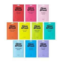EUNYUL - Clean & Fresh Sheet Mask - 10 Types