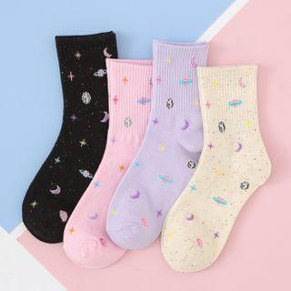 Sayaka - Galaxy Print Socks