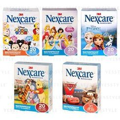 3M - Nexcare Waterproof Tattoo Bandages 20 pcs - 5 Types