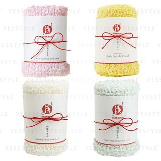 Makanai Cosmetics - Washi Paper Body Scrub Towel - 4 Types
