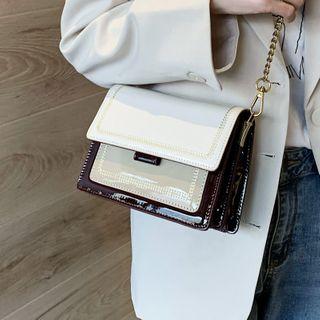 Kunado - Patent Crossbody Bag