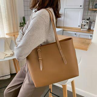 Perlin - 仿皮手提袋