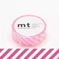 mt - mt Masking Tape : mt 1P Stripe Shocking Pink