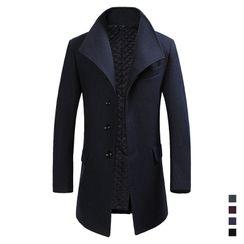 Wild Dragon(ワイルドドラゴン) - Button-Up Lapel Coat