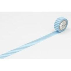 mt - mt Masking Tape : mt fab Stripe Light Blue x White