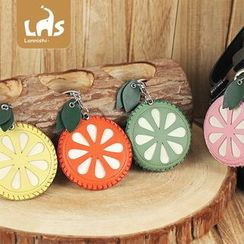 Coomui - Faux Leather Fruit Keyring