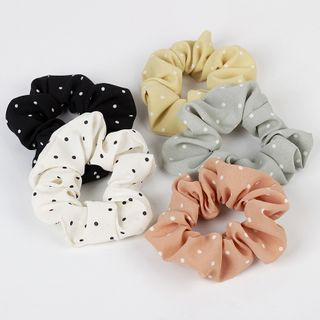 Sesori - Dotted Fabric Hair Tie