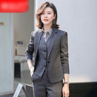 Skyheart - 纯色西装外套 / 西裤 / 铅笔裙 / 衬衫 / 套装