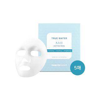 THANK YOU FARMER - True Water Deep Cotton Mask 5pcs