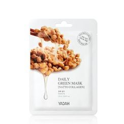 YADAH - Daily Green Natto Collagen Mask 1pc
