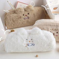 Miumi - Animal Furry Pencil Case