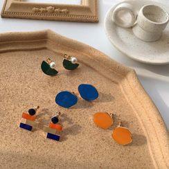 Calypso - Irregular Glaze Earring