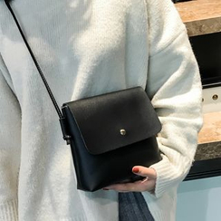 Lizzy - Faux Leather Shoulder Bag