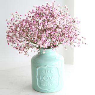 Beaucup - Embossed Lettering Ceramic Vase