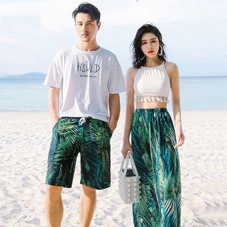 Higun - 情侶款坦基尼泳衣上衣 / 下裝 / 罩衫 / 沙灘短褲 / 套裝