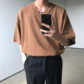 MRCYC - V-Neck Short-Sleeve T-Shirt
