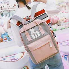 Beamie - Applique Nylon Laptop Backpack