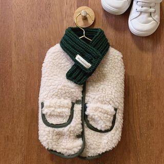 Bixin - 套装: 羊毛宠物上衣 + 围巾