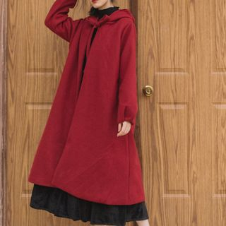 Glaypio - Hooded Long Cape