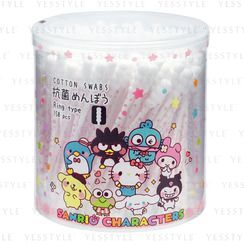 SANYO - Sanrio Antibacterial Cotton Swabs