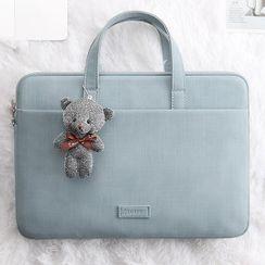 BAGGEST - Faux Suede Laptop Bag (various designs)