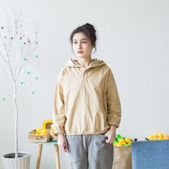 Echo Forest - Placket Hoodie