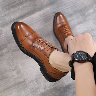 Pikkolo - Genuine Leather Oxford Shoes