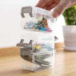 Popcorn - Transparent Mini Stackable Storage Box