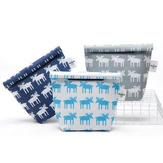 SANNE - Deer Print Insulated Lunch Bag