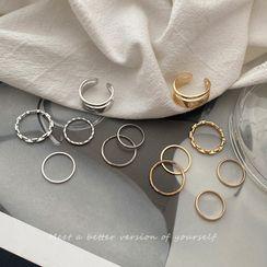 Coolgirl - Alloy Ring Set