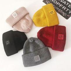TAAK - Applique Knit Beanie