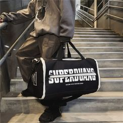 BagBuzz - Lettering Lightweight Duffle Bag