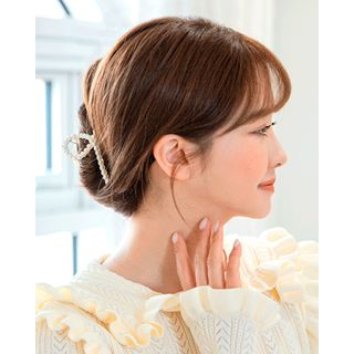 Miss21 Korea - Pearl / Rhinestone Hair Claw