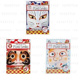 Sun Smile - Pure Smile Nippon Art Mask 1 pc - 3 Types
