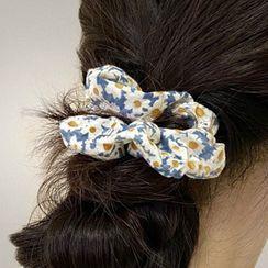PO!NY STUDIO  - Floral Scrunchie