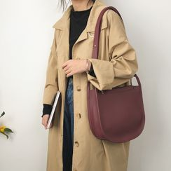 HOT KISS - Faux Leather Shoulder Bag